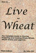 cookbook, grain cooking, wheat cooking, wheat recipes, sourdough, essene bread, wheat sprouts, making sprout bread