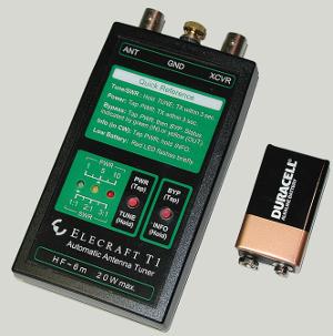 portable wire antenna tuner