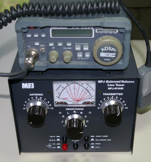 portable wire antenna tuner high impedance