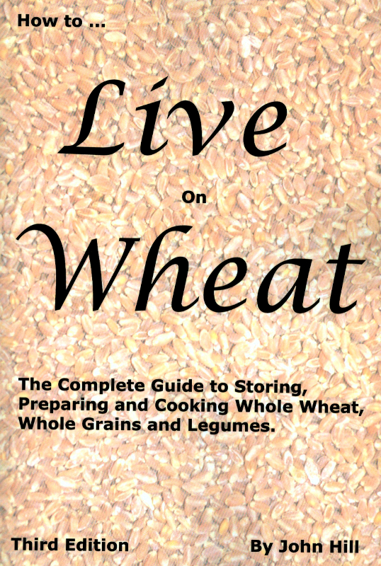 wheat cookbook, food storage, sprouting, sourdough